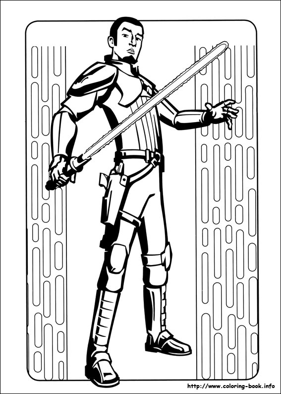 Wars Rebels coloring picture