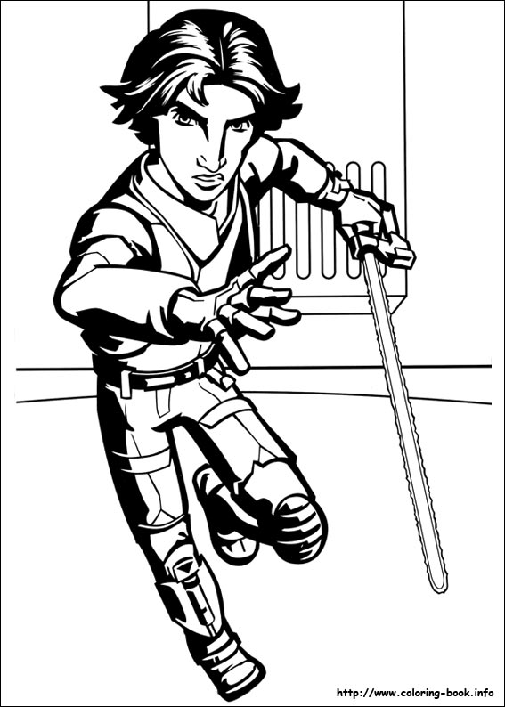 Star Wars Rebels coloring pages on Coloring-Book.info