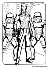 Star Wars Rebels coloring pages on Coloring Bookinfo