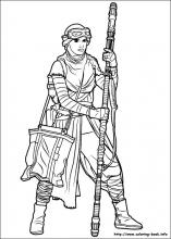Star Wars The Force Awakens Coloring Pages On Book