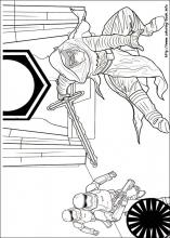 Star Wars  The Force awakens coloring pages on ColoringBookinfo