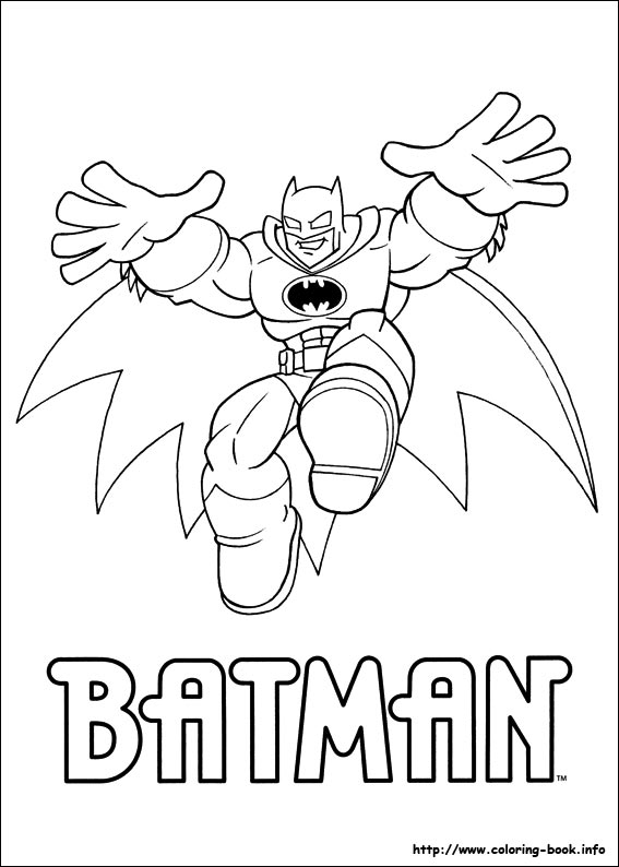 dc comics batman coloring pages - photo#24