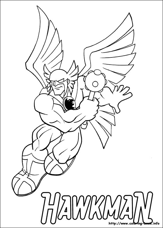 Super Friends coloring picture