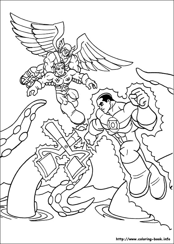 Merveilleux Super Friends Coloring Pages. 24 Super Friends Pictures To Print And Color.  Last Updated : January 30th