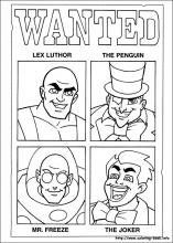 Super Friends Coloring Pages. 24 Super Friends Pictures To Print And Color.  Last Updated : August 17th