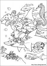 Perfect Super Friends Coloring Pages. 24 Super Friends Pictures To Print And Color.  Last Updated : May 28th