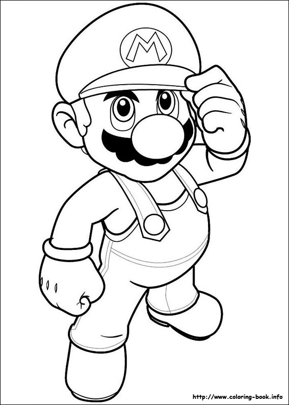 - Super Mario Bros. Coloring Pages On Coloring-Book.info