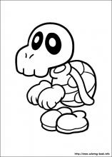 Super Mario Coloring Book - Coloring Home | 220x157
