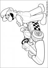 Super Mario Bros coloring pages on ColoringBookinfo