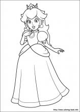 Super Mario Bros Coloring Pages On Coloring Book Info