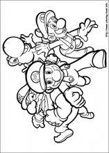 Super Mario Bros coloring pages on ColoringBookinfo