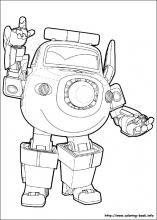 index coloring pages - Sprout Super Wings Coloring Pages