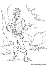 tangled coloring pages on coloring bookinfo