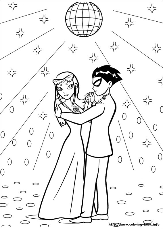 Teen Titans coloring pages on Coloring-Book.info