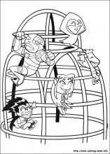 Teen Titans coloring pages on ColoringBookinfo