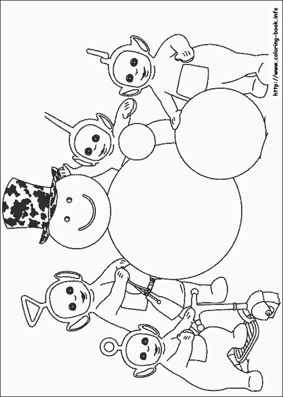 Teletubbies coloring pages on Coloring-Book.info