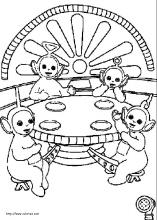 Teletubbies coloring pages on ColoringBookinfo