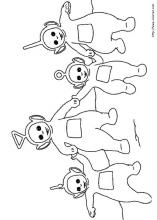 Teletubbies coloring pages on Coloring Bookinfo