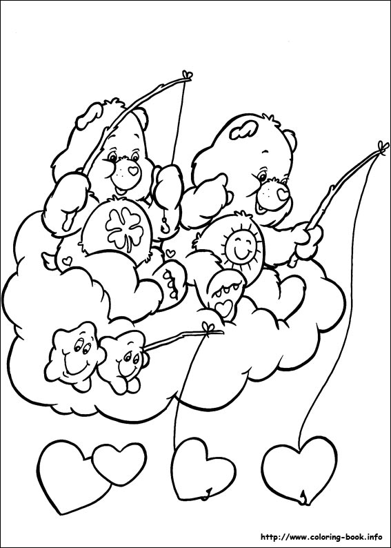 61 The Care Bears Pictures To Print And Color Last Updated August 17th