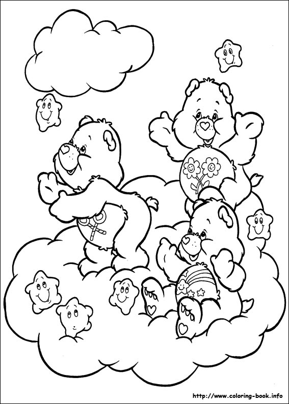 bears coloring pages The Care Bears coloring pages on Coloring Book.info bears coloring pages