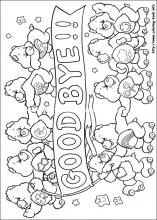 The Care Bears coloring pages on Coloring Bookinfo