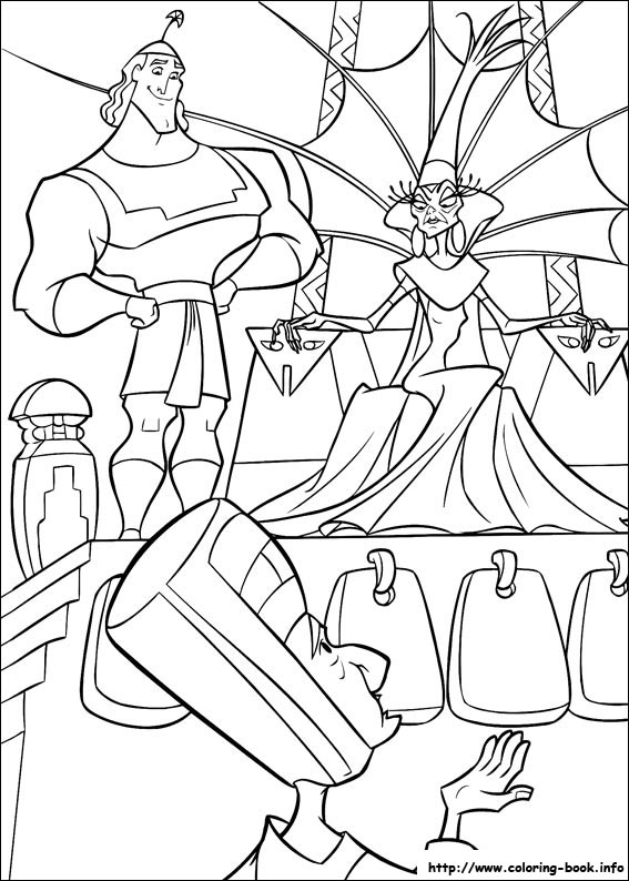The Emperor S New Groove Coloring Pages On Coloring Book Info