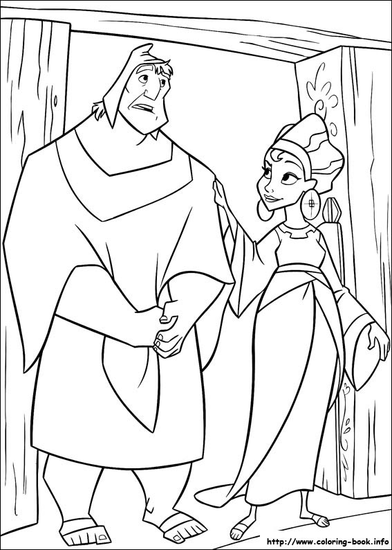 The Emperor S New Groove Coloring Picture
