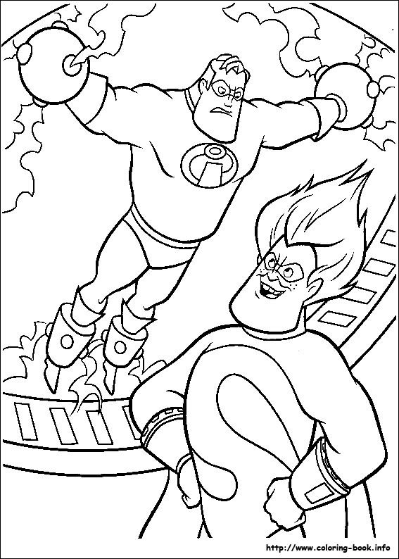 the incredibles coloring pages the incredibles coloring pages