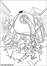 The Incredibles Coloring Pages On Coloring Book Info