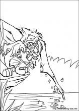 The Lion King coloring pages on Coloring Bookinfo