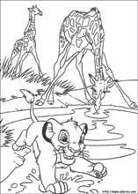 The Lion King Coloring Pages On Book