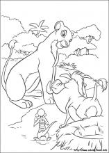 The Lion King coloring pages on Coloring-Book.info