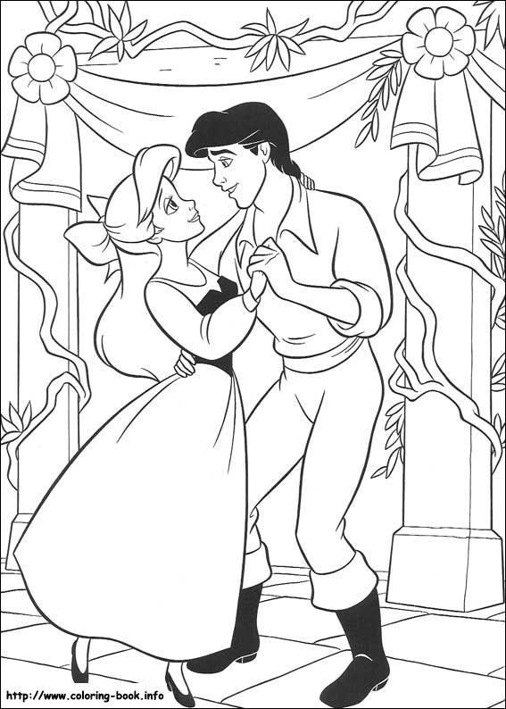 the little mermaid coloring pages on coloringbook, coloring pages
