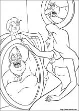 Little Mermaid 2 Coloring Pages | Mermaid coloring pages, Mermaid ... | 220x157
