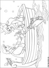 image relating to Little Mermaid Printable Coloring Pages named The Minimal Mermaid coloring webpages upon