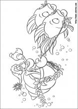 The Little Mermaid coloring pages on Coloring Bookinfo