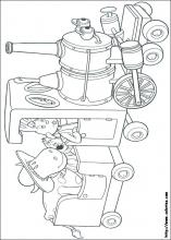 Magic Roundabout Coloring Pages