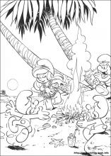 The Smurfs coloring pages on Coloring-Book.info