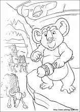 The Wild coloring pages on Coloring-Book.info
