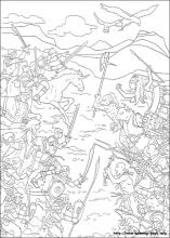 The Chronicles Of Narnia Coloring Pages On Book