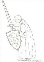 The chronicles of Narnia coloring pages on ColoringBookinfo