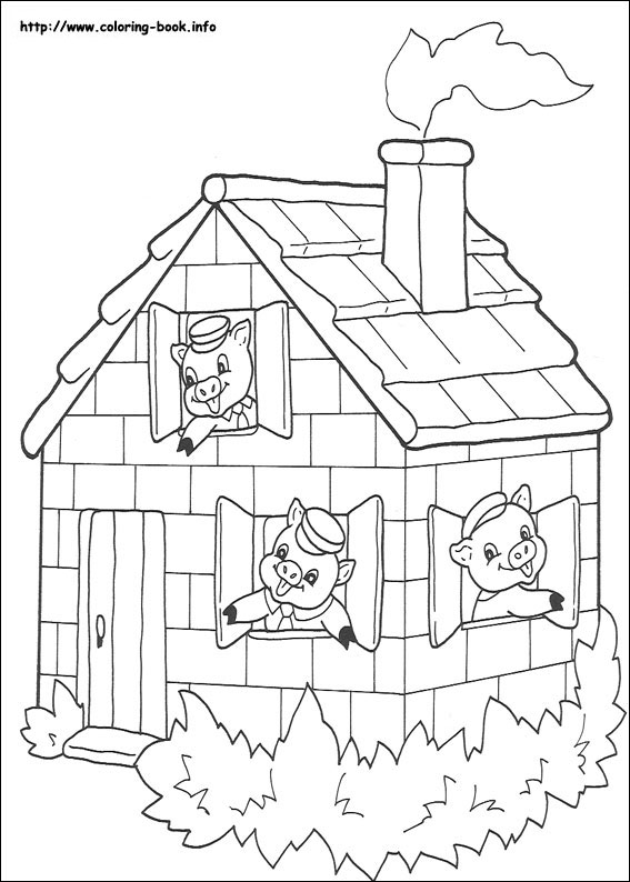 three little pigs coloring pages The three little pigs coloring pages on Coloring Book.info three little pigs coloring pages