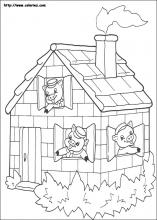 the three little pigs coloring pages on coloring-book.info - Pigs Coloring Pages