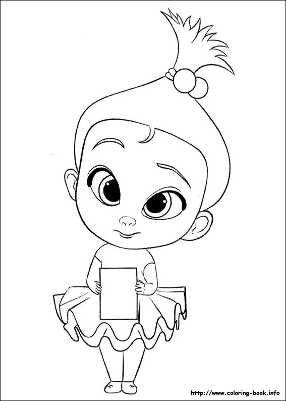 Colouring Page Boss Baby The Boss Baby coloring page Free Printable ...