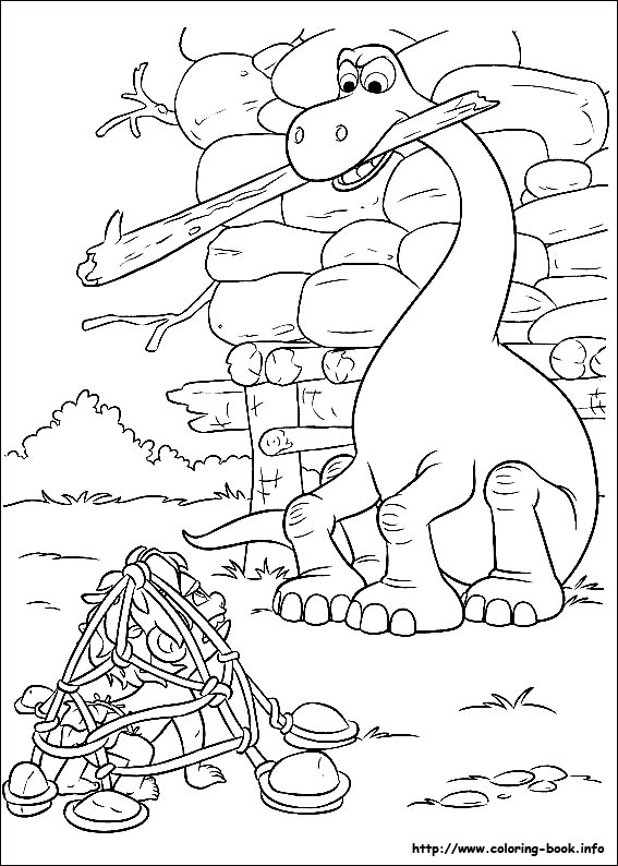 The Good Dinosaur coloring pages | Free Coloring Pages | 794x567
