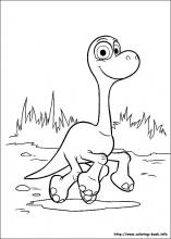 The Good Dinosaur Coloring Pages On Book