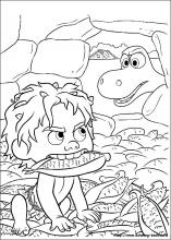 The Good Dinosaur coloring pages on Coloring-Book.info