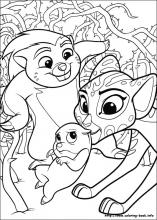 index coloring pages - Lion Coloring Pages