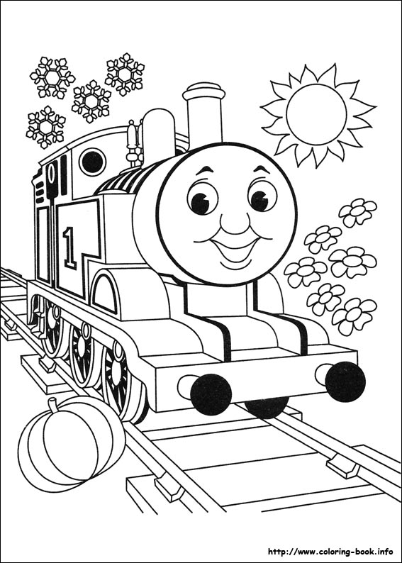 Thomas The Train Coloring Pages Enchanting Thomas And Friends Coloring Pages On Coloringbook