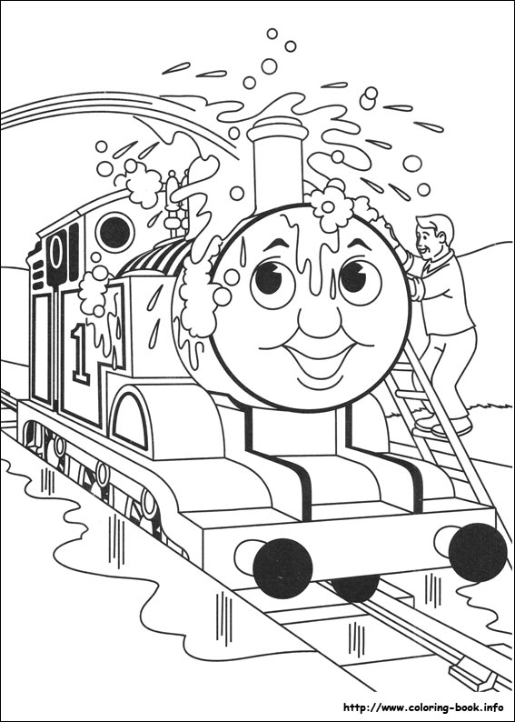 Thomas And Friends Coloring Pages On Coloring Book Info
